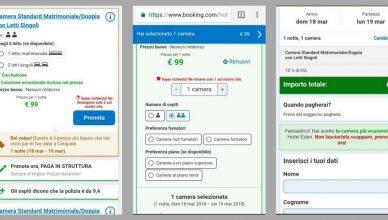 Prenotazioni dal mobile su Booking.com